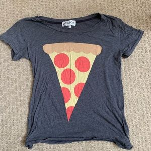 Wildfox pizza t-shirt